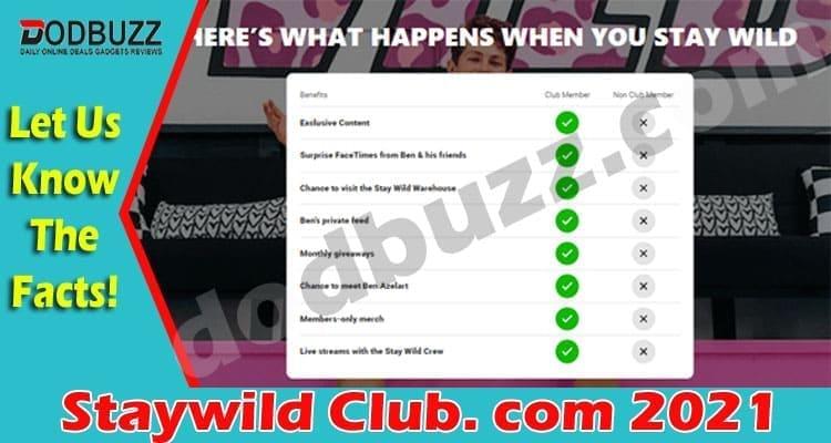 Staywild Club. com 2021
