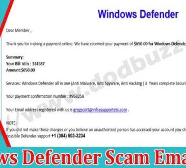Windows-Defender-Scam-Email Dodbuzz.com