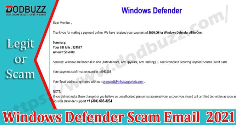 Windows-Defender-Scam-Email Dodbuzz.com