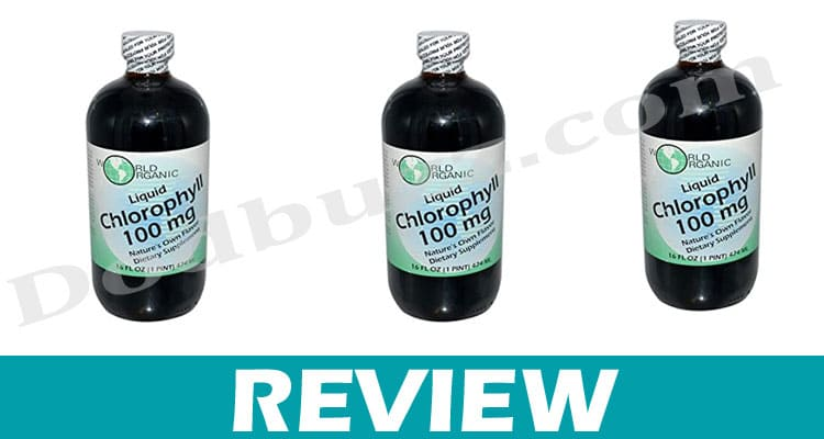 World Organic Liquid Chlorophyll Dodbuzz.com