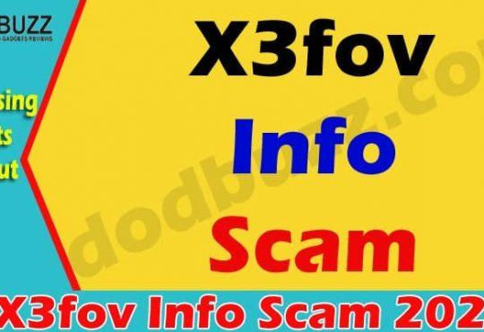 X3fov Info Scam 2021