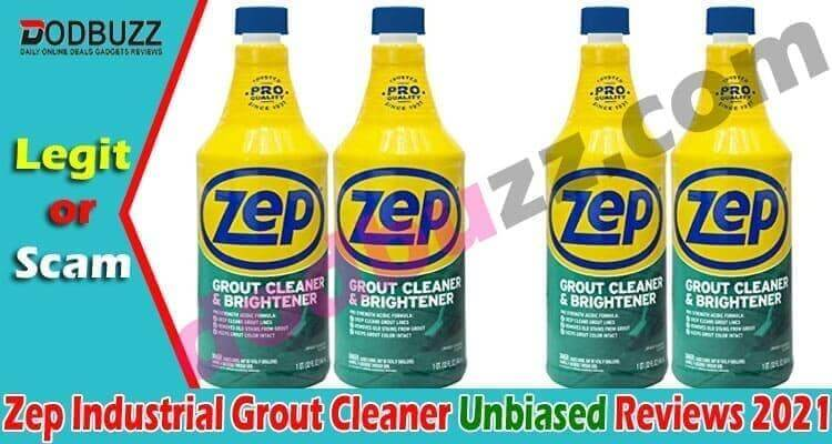Zep Industrial Grout Cleaner Reviews 2021
