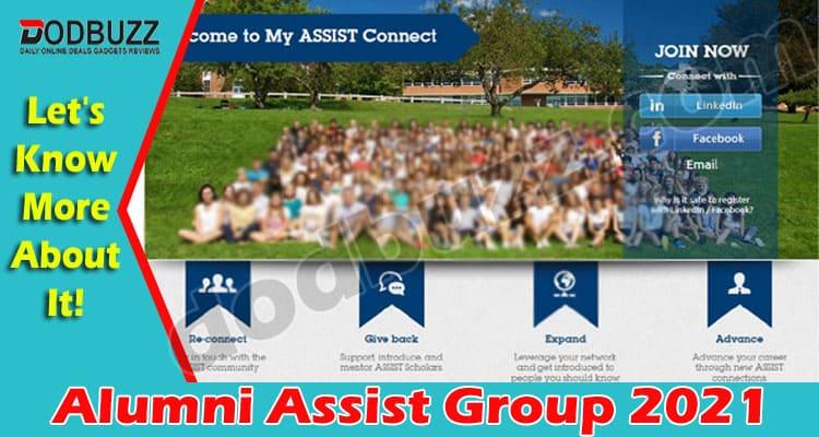 Alumni Assist Group 2021.