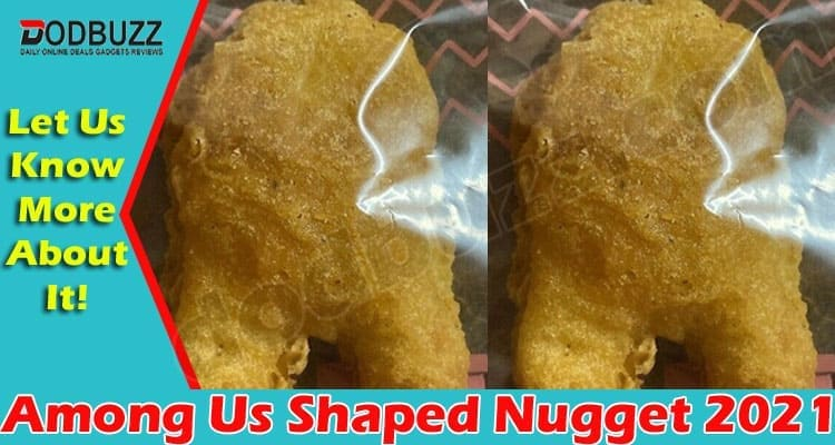 Among Us Shaped Nugget (May) Enjoy This Exciting Meal!