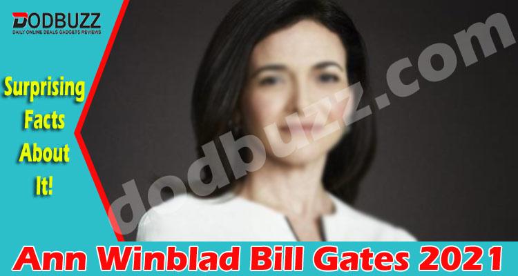 Ann Winblad Bill Gates {May} A Professional Woman!