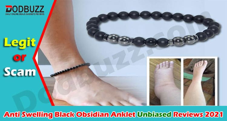 Anti Swelling Black Obsidian Anklet Reviews 2021