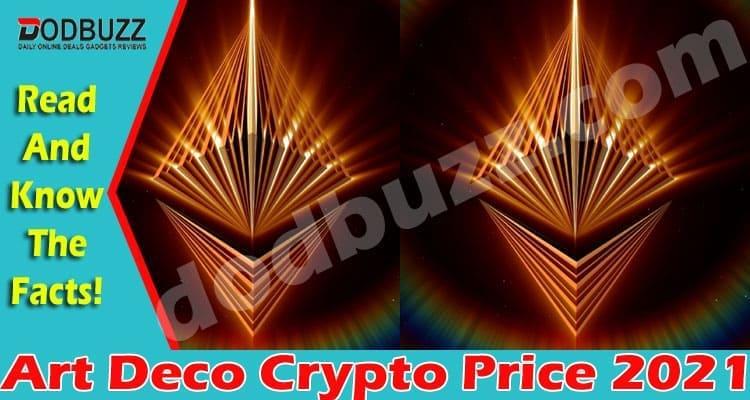 Art Deco Crypto Price 2021.