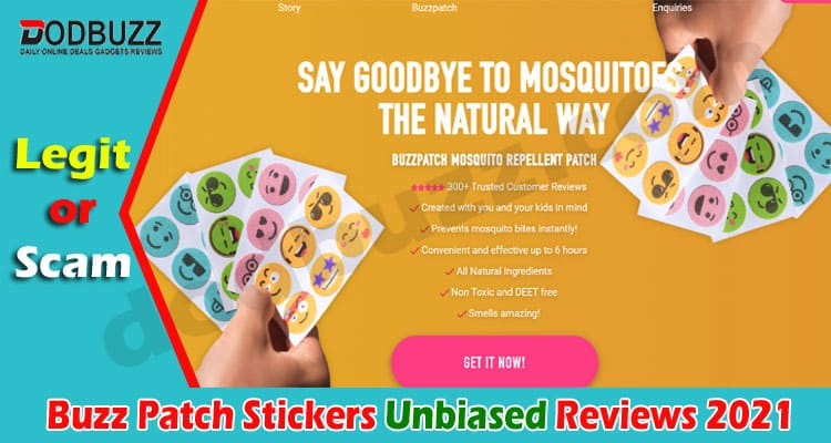 Buzz Patch Stickers Reviews 2021.