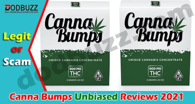 Canna Bumps Reviews (April) Checkout Details!
