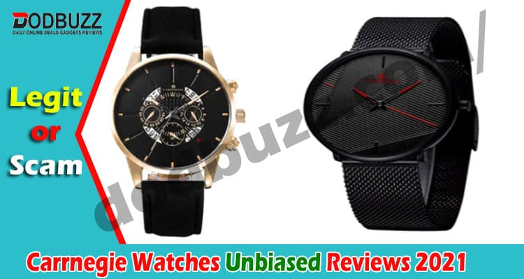 Carrnegie Watches Review (May) Is The Product Legit