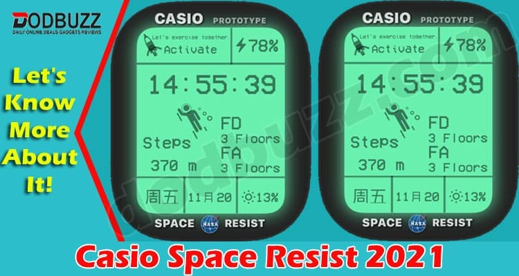 Casio Space Resist (May) Everything You Need To Know!