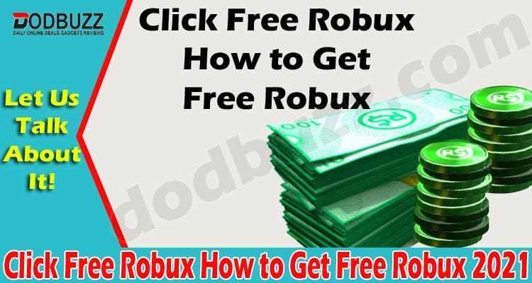 Click Free Robux How to Get Free Robux (May) Check Here!