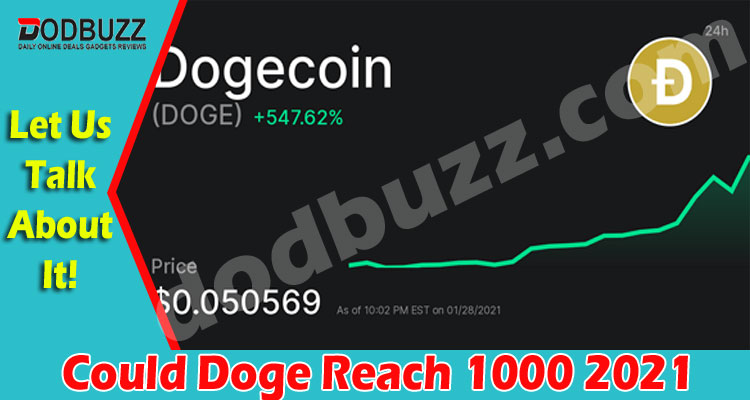 Could Doge Reach 1000