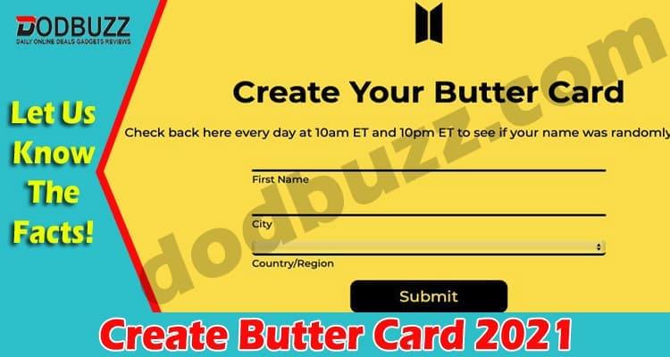 Create Butter Card 2021.