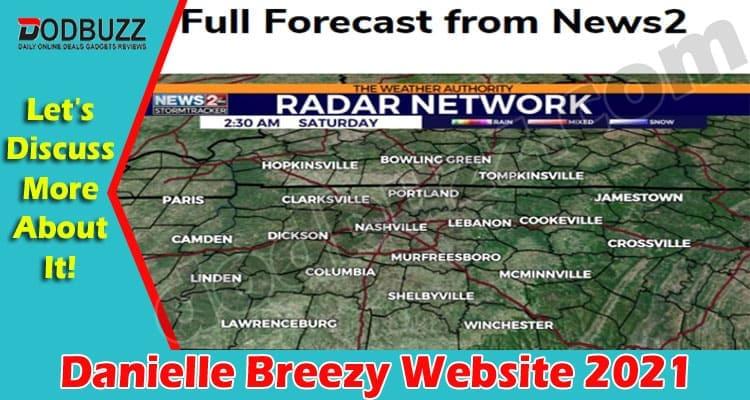 Danielle Breezy Website 2021.