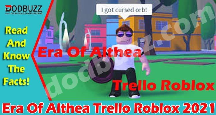 Era Of Althea Codes Roblox 2021..