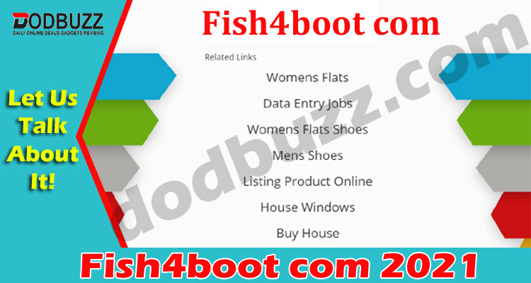 Fish4boot Com (May) Let Us Learn About This Website!