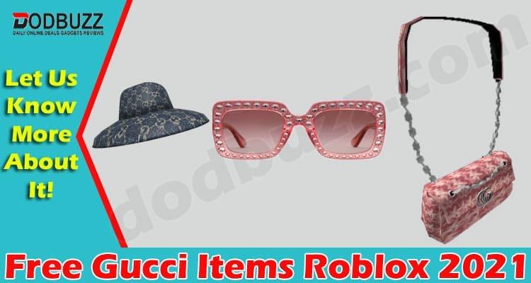 Free Gucci Items Roblox 2021