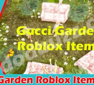 Gucci Garden Roblox Items 2021