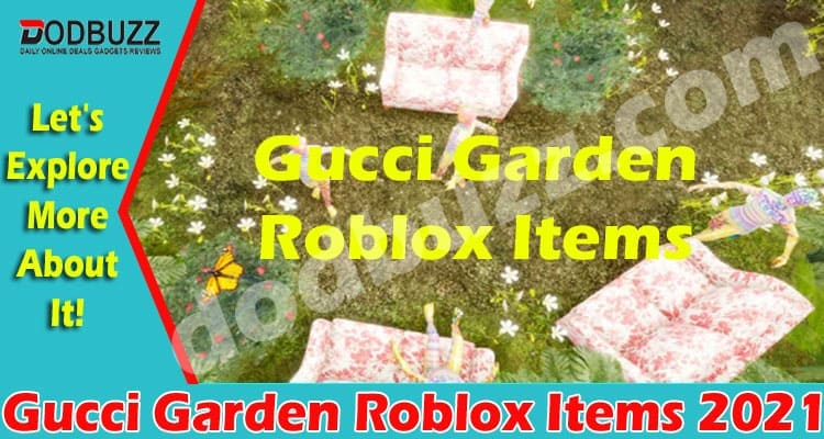 Gucci Garden Roblox Items 2021