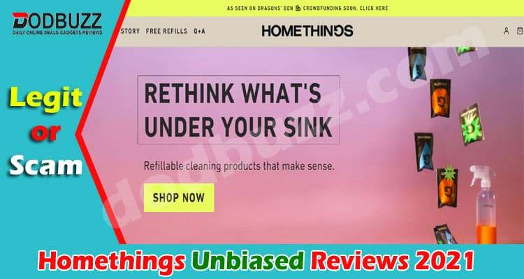 Homethings Review [May 2021] Is it a Scam Website