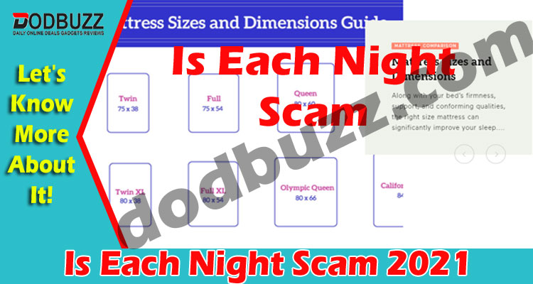 Is Each Night Scam (May) Curious To Know, Go Ahead!