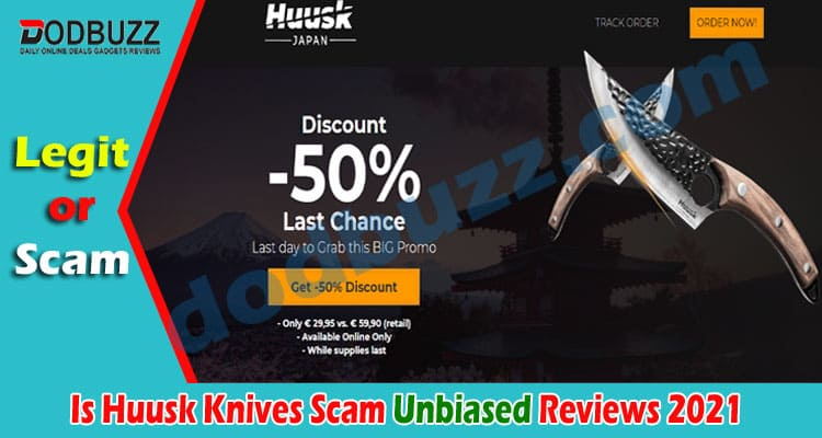 Is Huusk Knives Scam 2021.