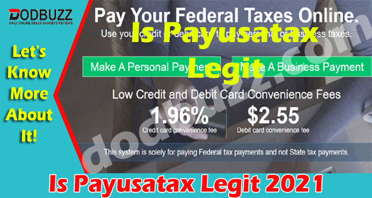 Is Payusatax Legit (May) Checkout Complete Information!