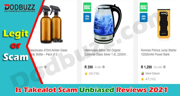 Is Takealot Scam 2021