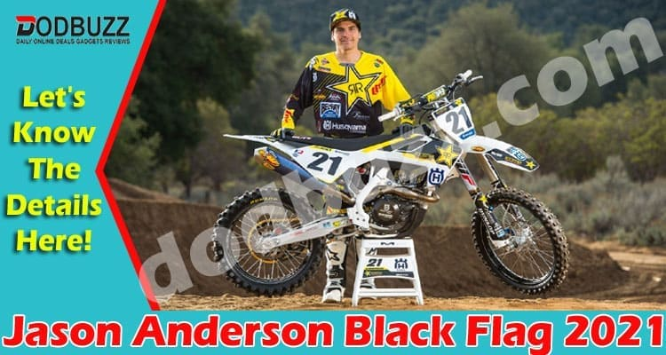 Jason Anderson Black Flag 2021.