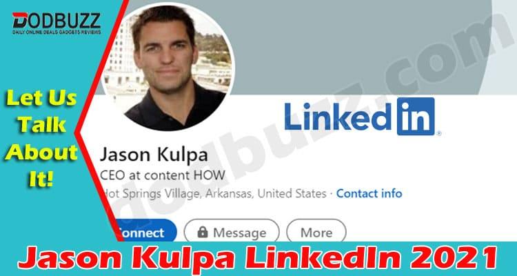 Jason Kulpa Linkedin 2021