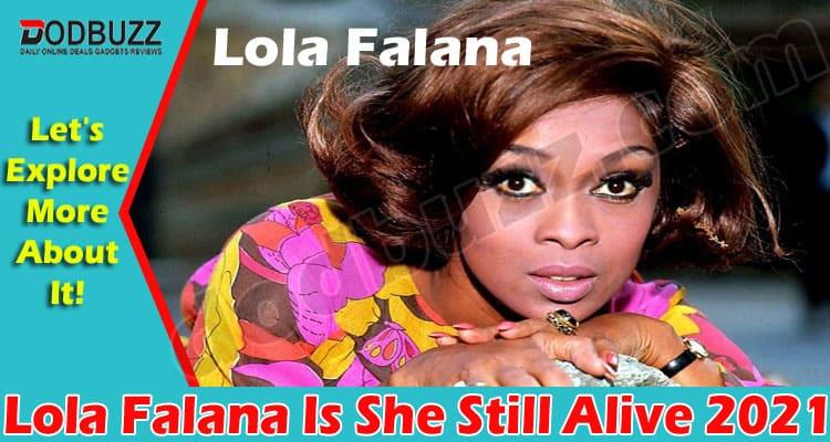 Lola Falana Is She Still Alive 2021