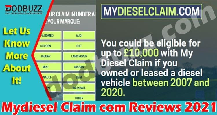 Mydiesel Claim com Reviews 2021
