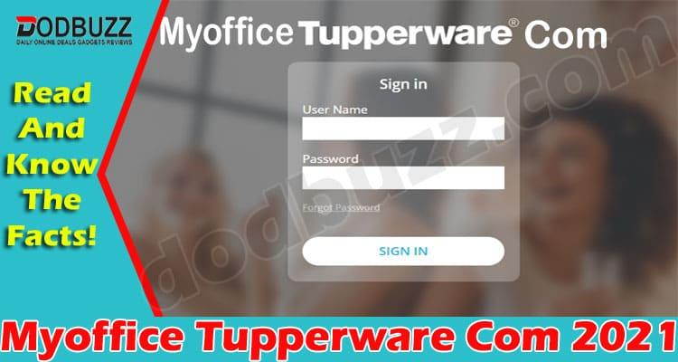 MyofficeTupperwareCom 2021