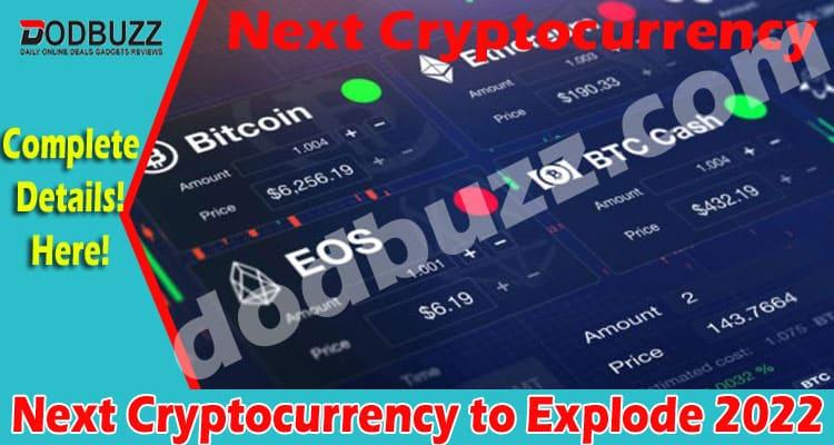 Next Cryptocurrency to Explode 2022 Dodbuzz