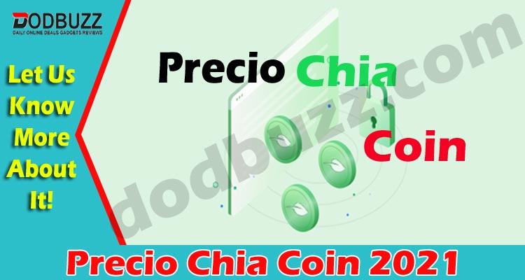 Precio Chia Coin 2021..