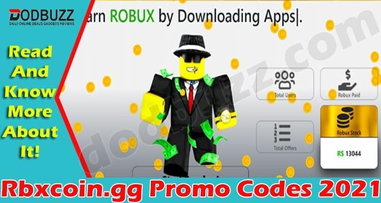 Rbxcoin.gg Promo Codes 2021