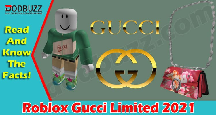 Roblox Gucci Limited 2021