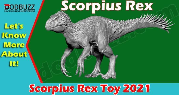 Scorpius Rex Toy 2021.