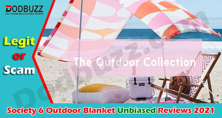 Society 6 Outdoor Blanket Review 2021