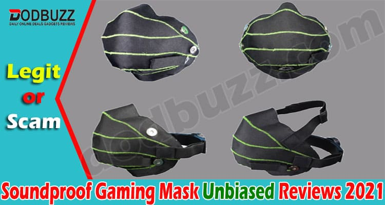 Soundproof Gaming Mask 2021