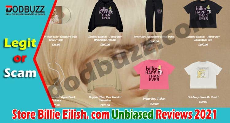 Store Billie Eilish. com Reviews (May) Is It Legit Site?