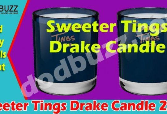 Sweeter Tings Drake Candle 2021