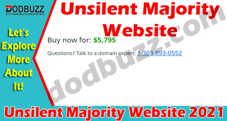Unsilent Majority Website {May 2021} Explore The Truth!