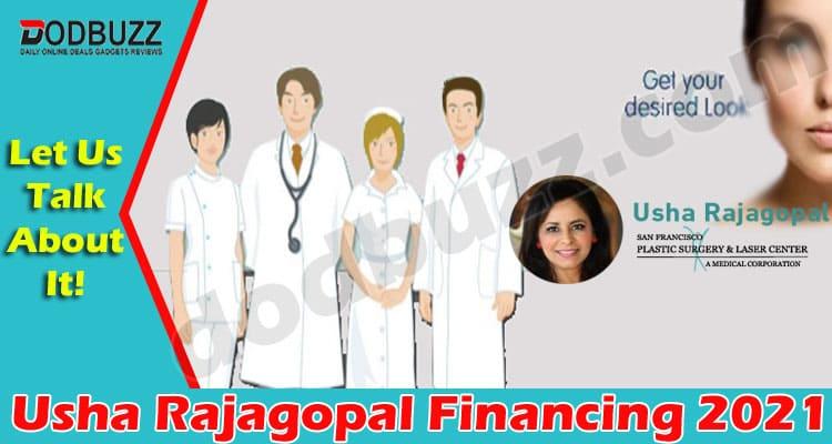 Usha Rajagopal Financing (May) How It Can Benefit