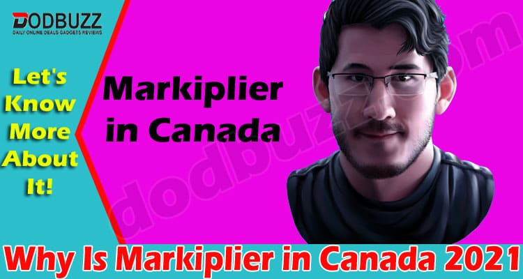 Why Is Markiplier In Canada (May) Get To Know Here!