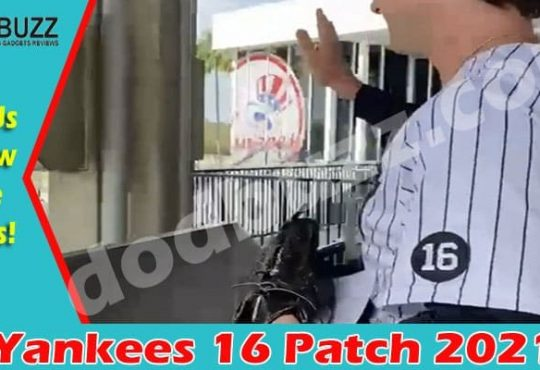 Yankees 16 Patch 2021