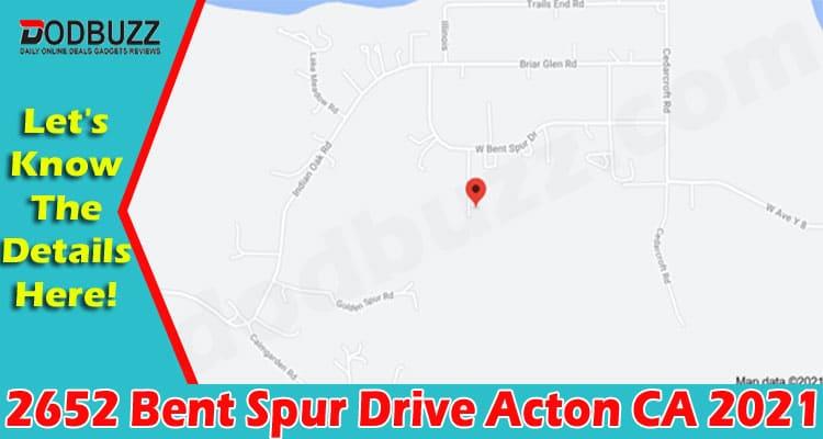 2652 Bent Spur Drive Acton CA (June) Details Inside!