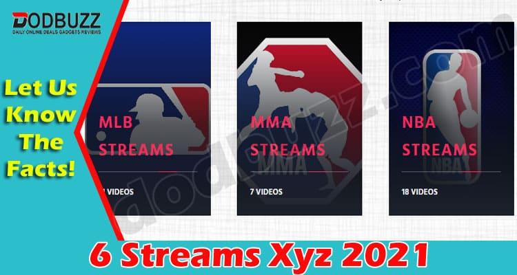 6 Streams Xyz 2021