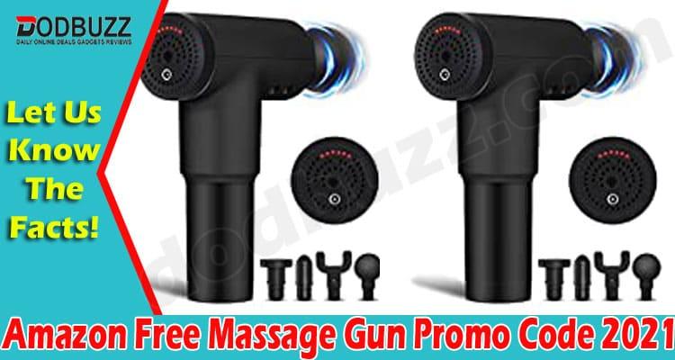 Amazon Free Massage Gun Promo Code (June) Get Details! 2021.